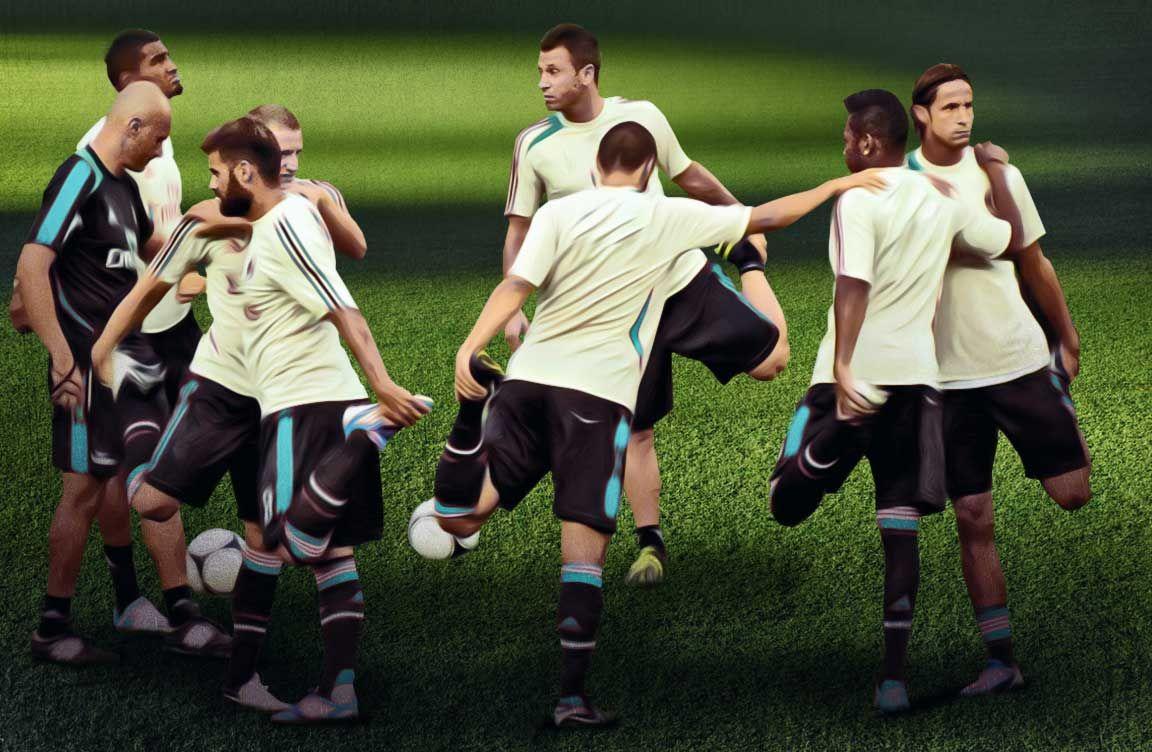 6 Fußball Übungen